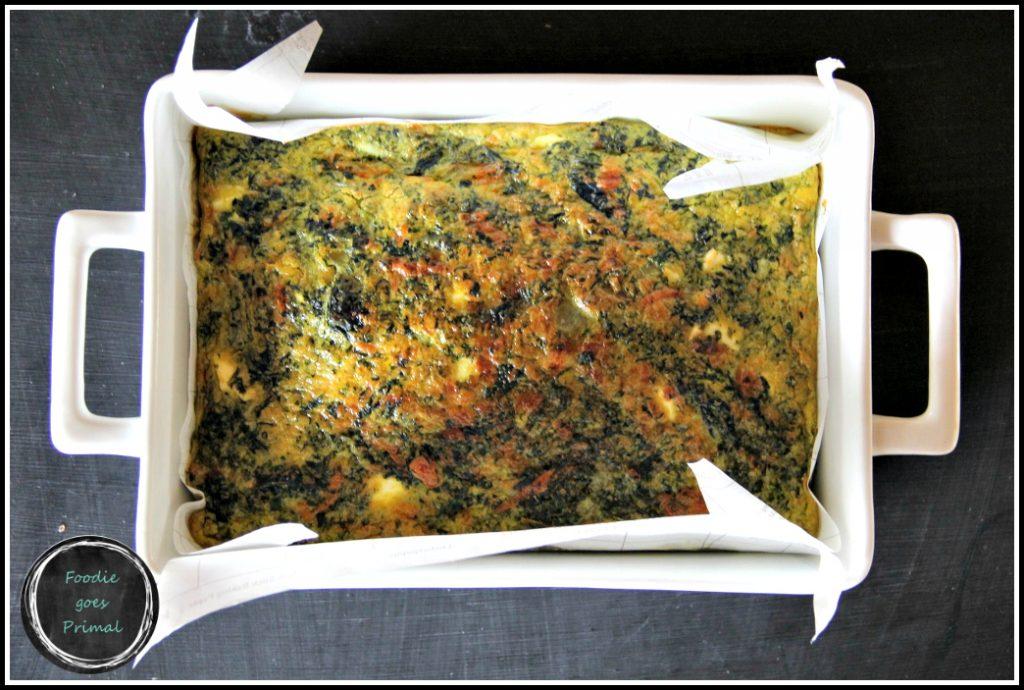 Best Ever Spinach Quiche {LCHF, Grain-Free}