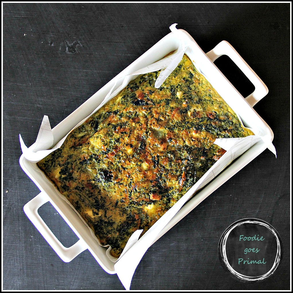 Best Ever Spinach Quiche {LCHF, Grain-Free}