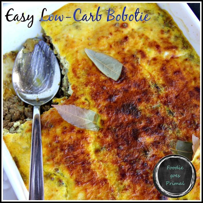 Low Carb Bobotie {LCHF, Sugar-Free, Banting}