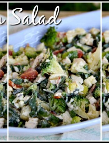 Chicken salad LCHF