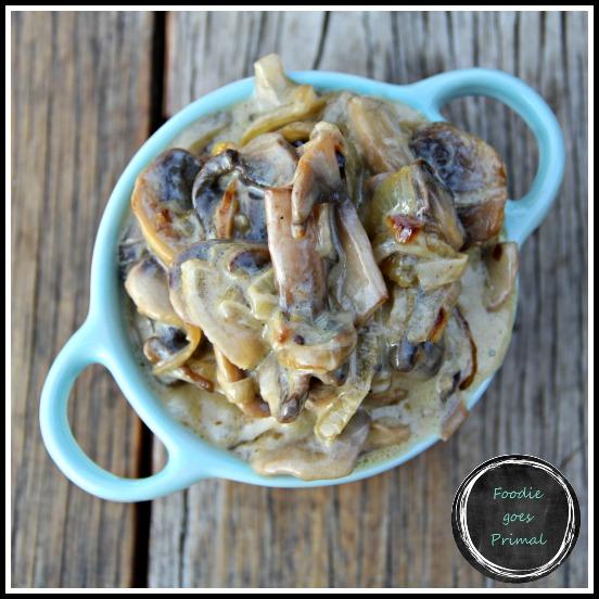 Low Carb Mushroom sauce