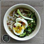 Asian pork & zoodle bowl