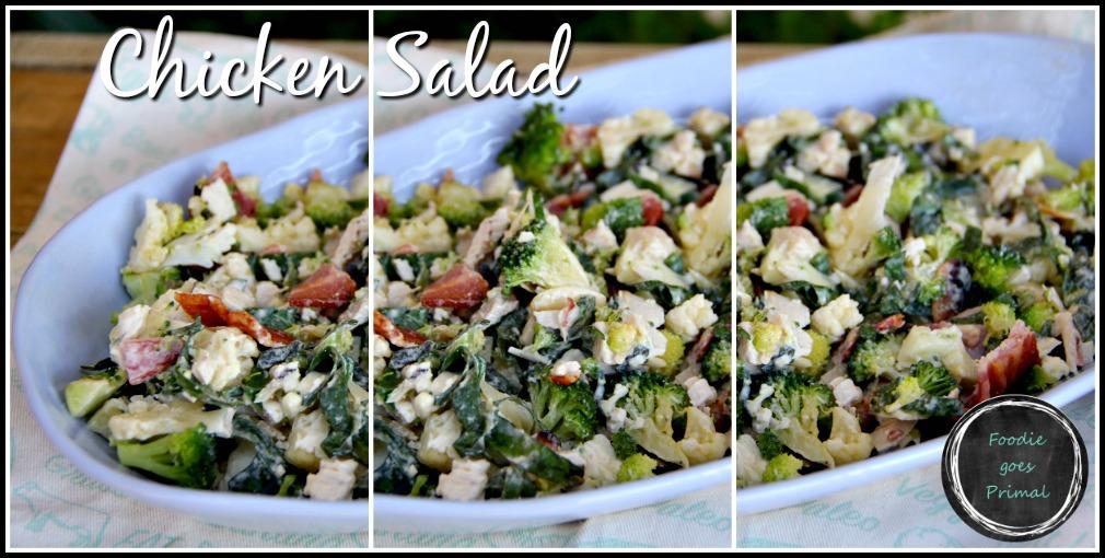 Chicken salad LCHF